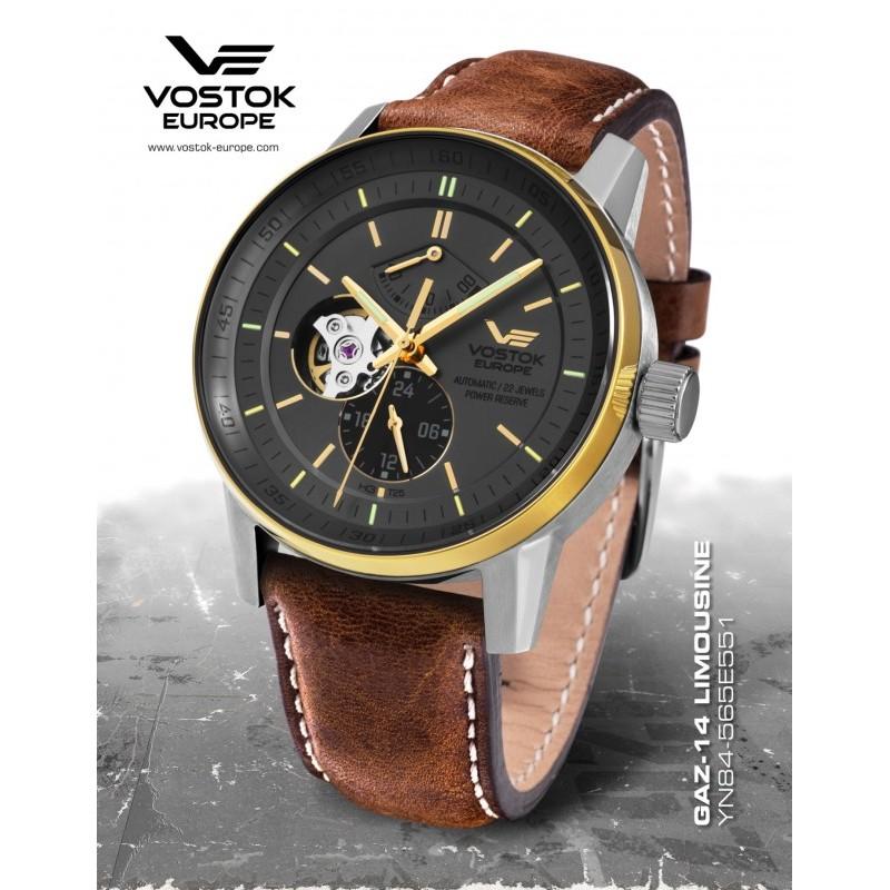 Pánske hodinky Vostok-Europe YN84/565E551 GAZ-14 LIMOUZINE Automatic