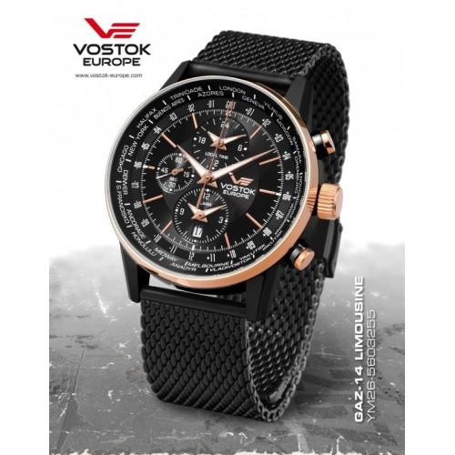 Pánske hodinky Vostok-Europe YM26/5603255 B GAZ-14 LIMOUZINE