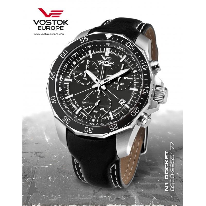 Pánske hodinky Vostok-Europe 6S30/2255177 N-1 ROCKET Chronograph