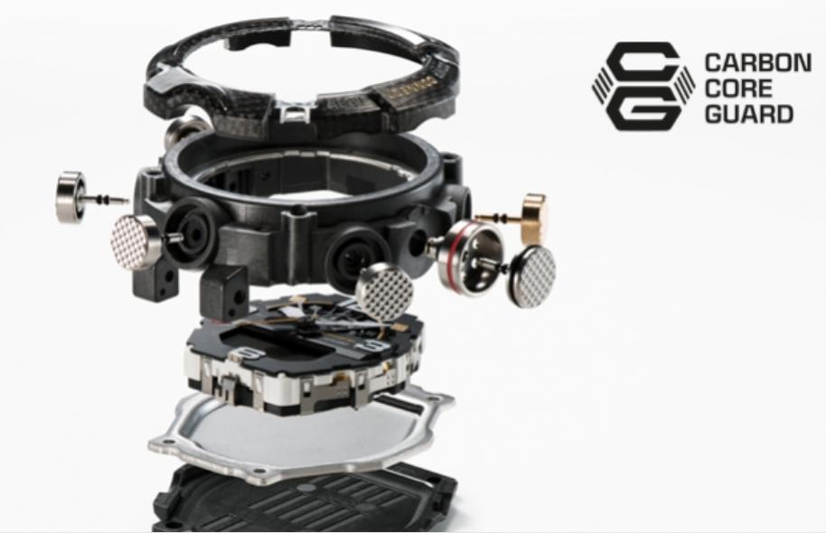 Carbon Core Quard puzdroCasio GG-B100