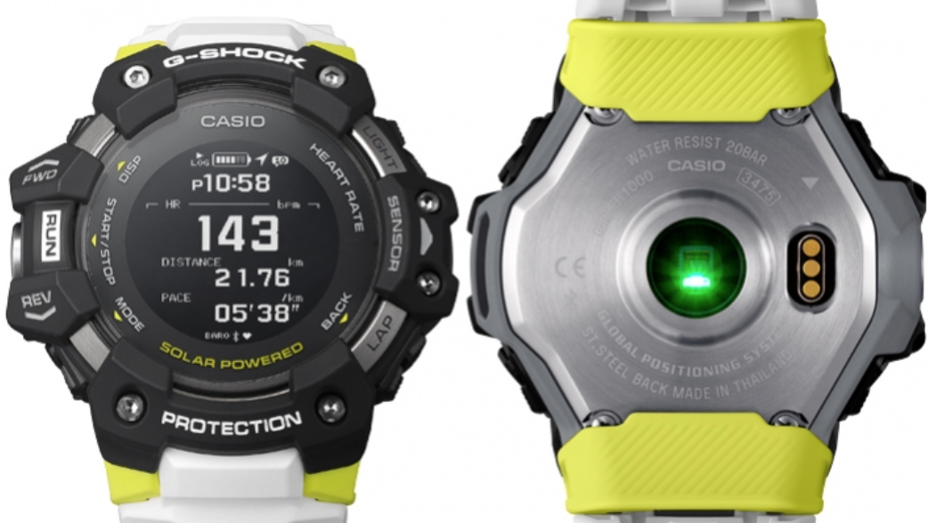 G-Shock Heart Rate sensor